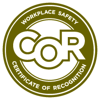 COR - Workplace Safety Certificate of Recognition